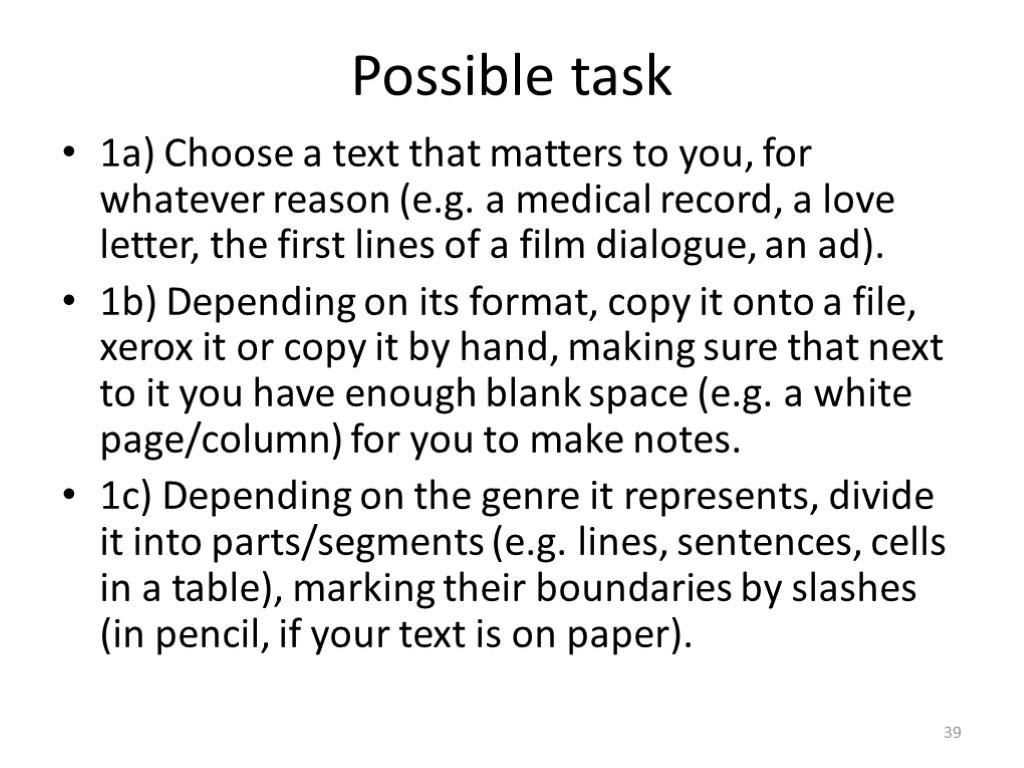 lut 1 task 1 outline