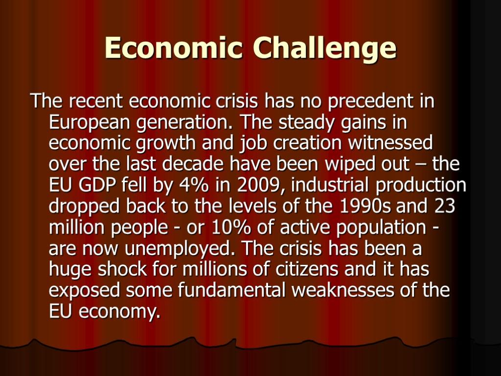 the weakness of european economic integration
