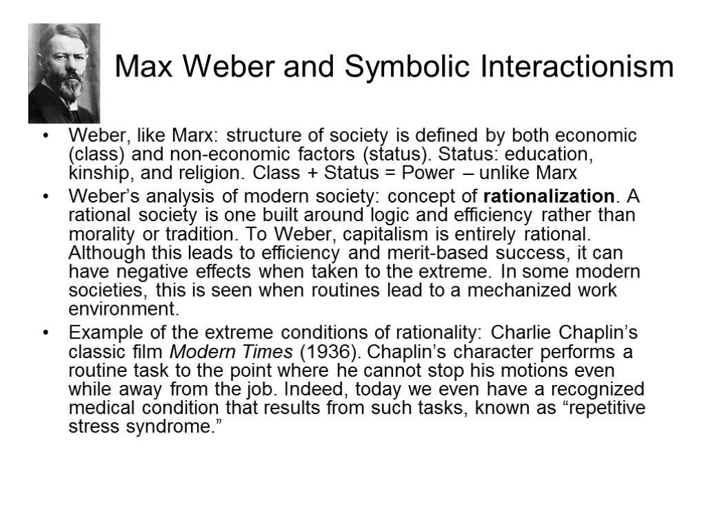secularisation thesis max weber Why max weber was wrong max weber is justly famous for many how ironic it would be if the last people to believe in weber's protestant ethic thesis were.