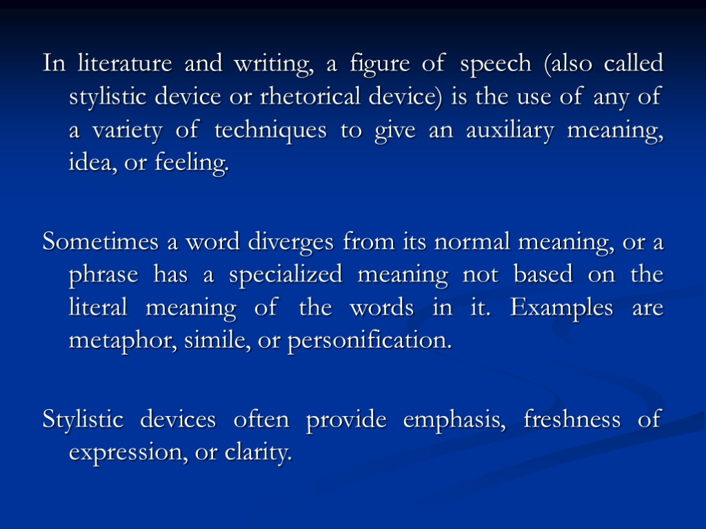 examples of rhetorical devices in speeches