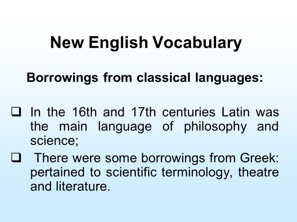 philosophy vocabulary