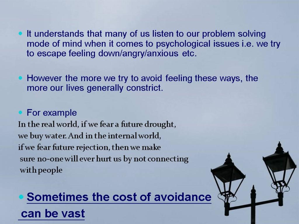 Psychological Problem Solving