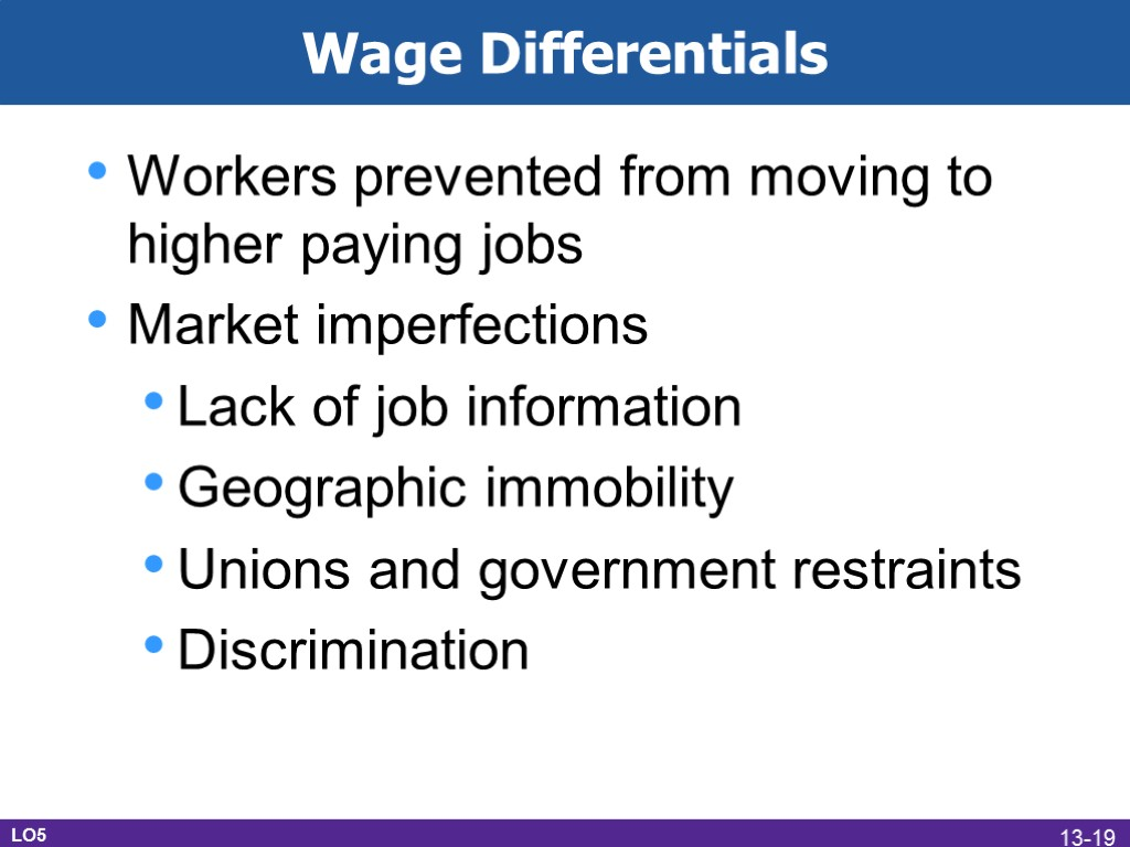 wage differentials essay Essay on gender issues in labour market in india article shared by: the report notes that discrimination is not a matter of wage differentials.