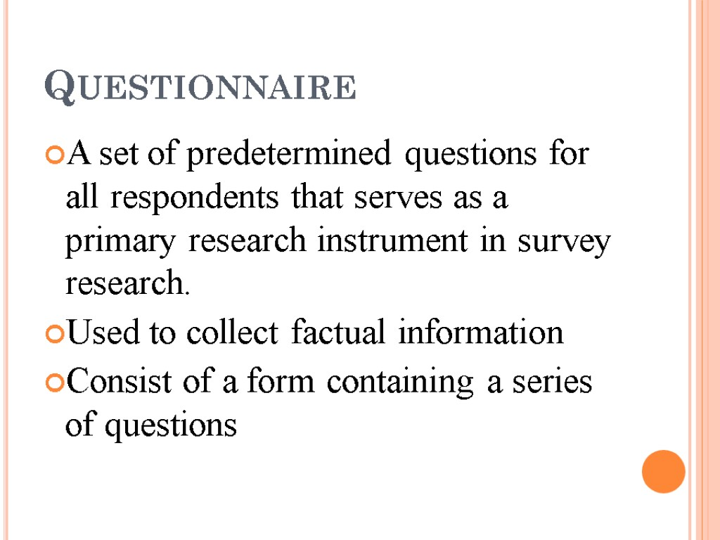 primary research questionnaire Do you have questions about primary market research ask us in the comments  the four types of primary market research | canadian entrepreneur training.