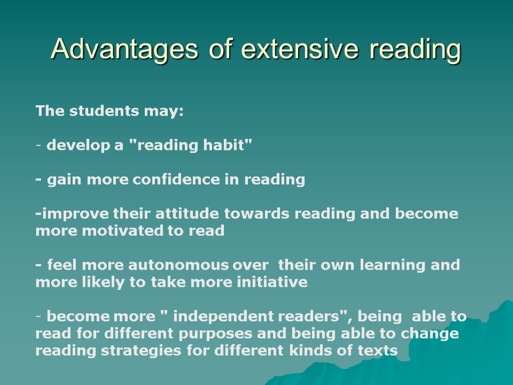 essays reading habit Still, critical reading is more than paranoid doubt, or trying to slam every essay the reader finds critical reading is different than skeptical reading critical reading is the deliberate act of testing concepts, trying ideas on for size.