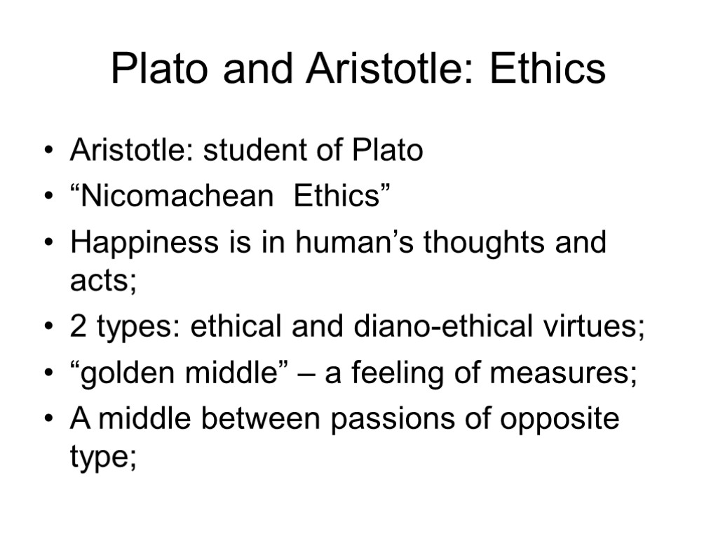 aristotles explanation of why people do what they do through nicomachean ethics Question in aristotles view how are the virtues acquired ii1 of aristotle's nicomachean ethics to do with ethics they both involve.