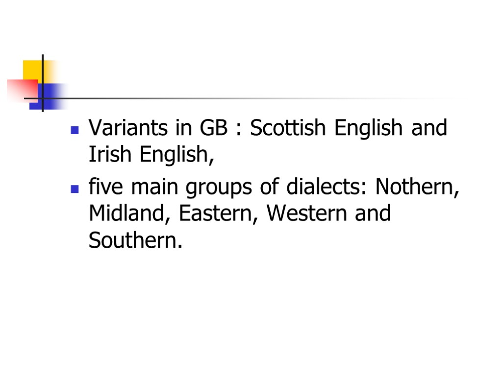 variants and dialects of the english and armenian languages essay Free essay: spain: languages and dialects with a the type of english there are usually variants that emerge from it—variants such as dialects or.