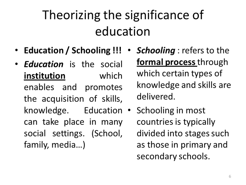 education the social institution Social institutions kelly beam criminal organization week 3 thomas borton a social institution is the area or group where a person lives or grows up getting an education creates a social institution because school helps to forming variable for the students who attend.
