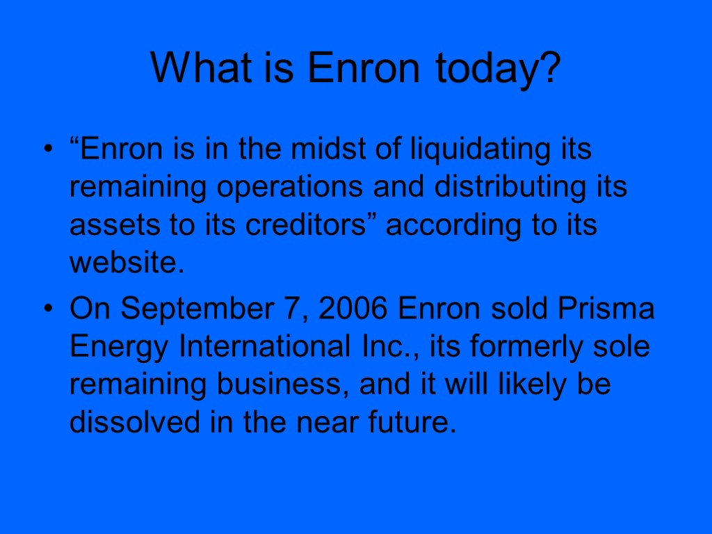 enron accounting fault