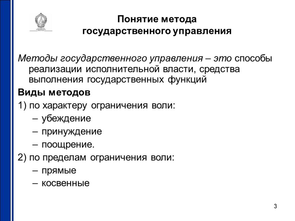 Методы Изучения Государственного И Муниципального Управления .шпаргалка