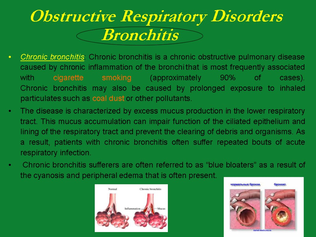 respiratory case study chronic bronchitis