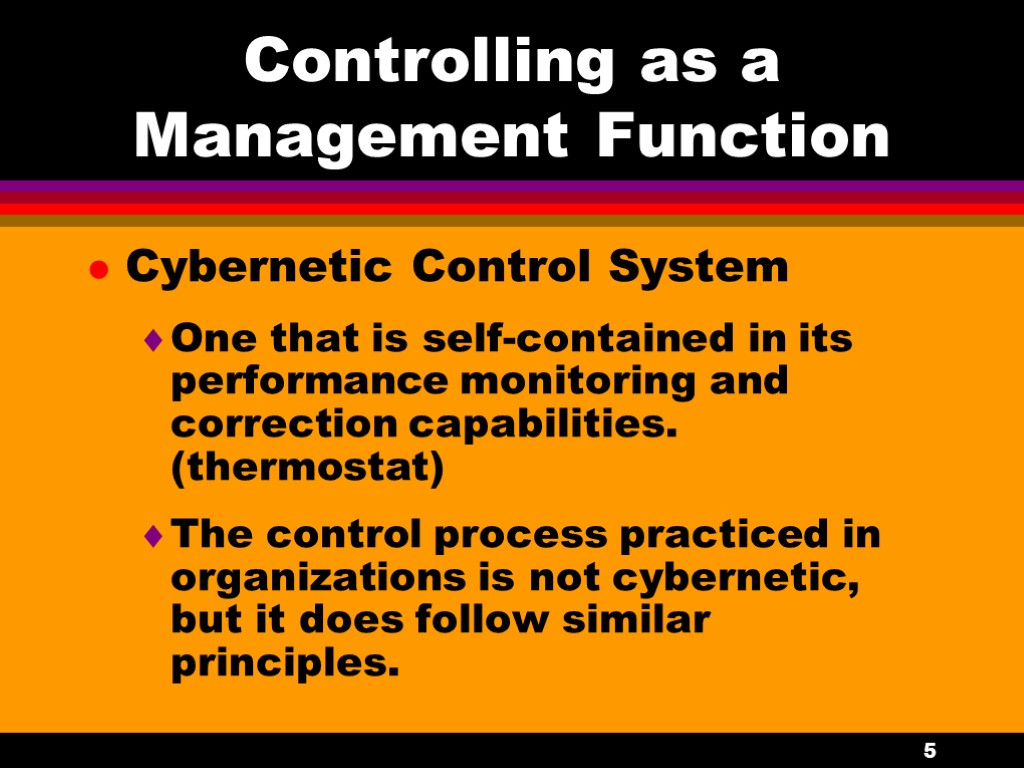 controlling managerial functions