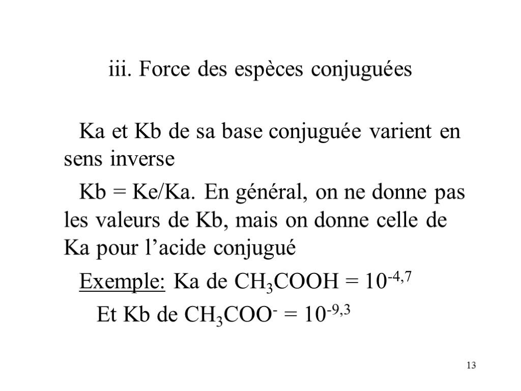 1 Les Acides Et Les Bases Reactions En