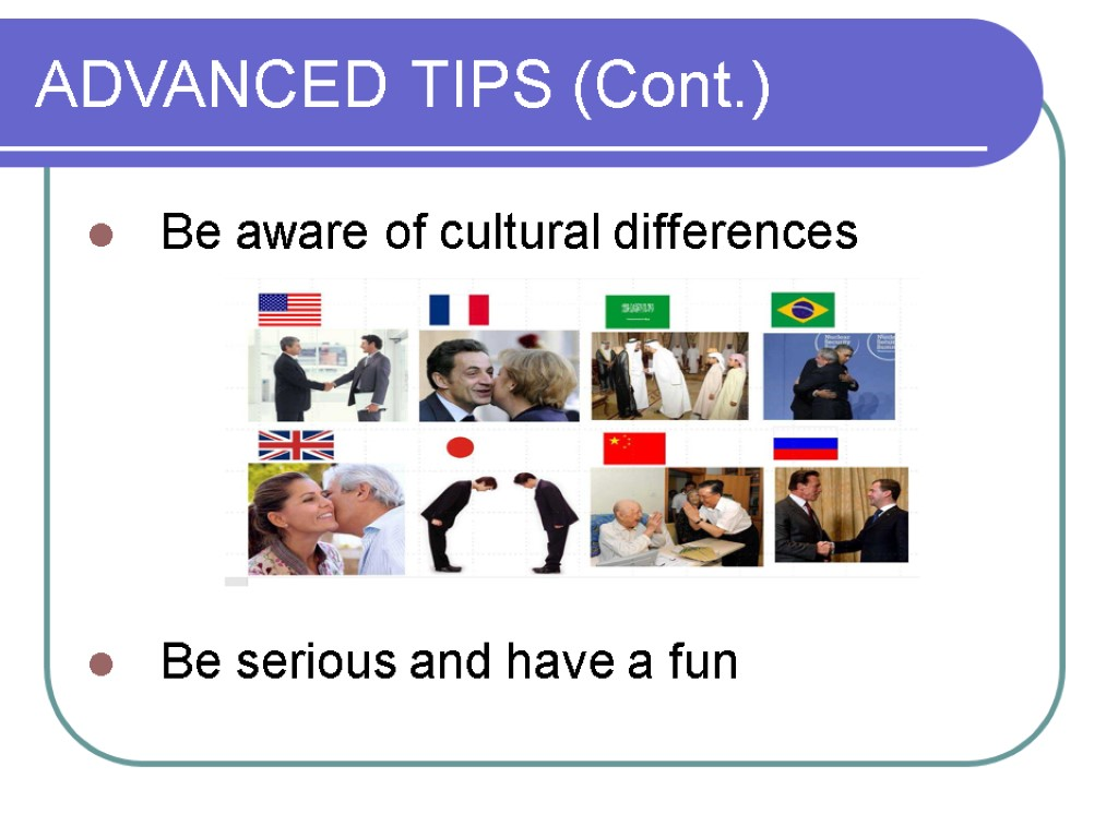 analysis of the cultural differences of Upon completion of cultural analysis the company should design its market strategies in a way that suits foreign market's needs and wants affected by the cultural distance between two partners in what ways are joint ventures and types of international collaboration affected by cultural differences.