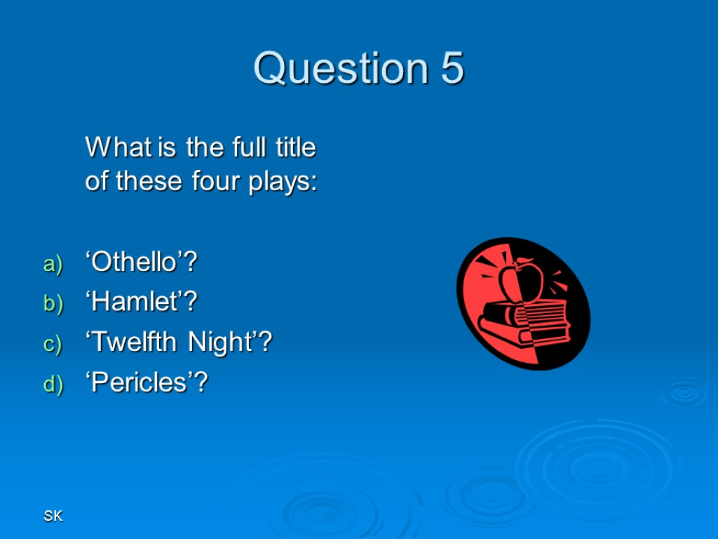 the hamlet question