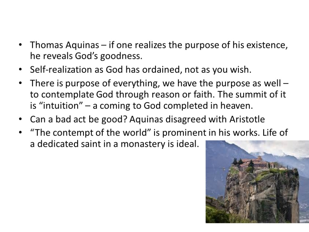 aquinas essay Maimonides and aquinas with reverence to the guide, st - maimonides and aquinas essay introduction thomas aquinas was already in belief with the common interest of the principles of maimonides that the study of natural science and that science itself is the cause of human apprehension to god.