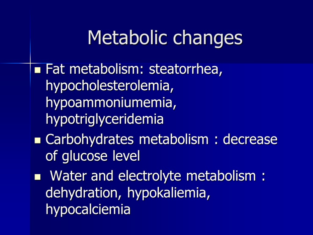 CHRONIC DISEASES of the SMALL INTESTINECELIAC DISEASE also