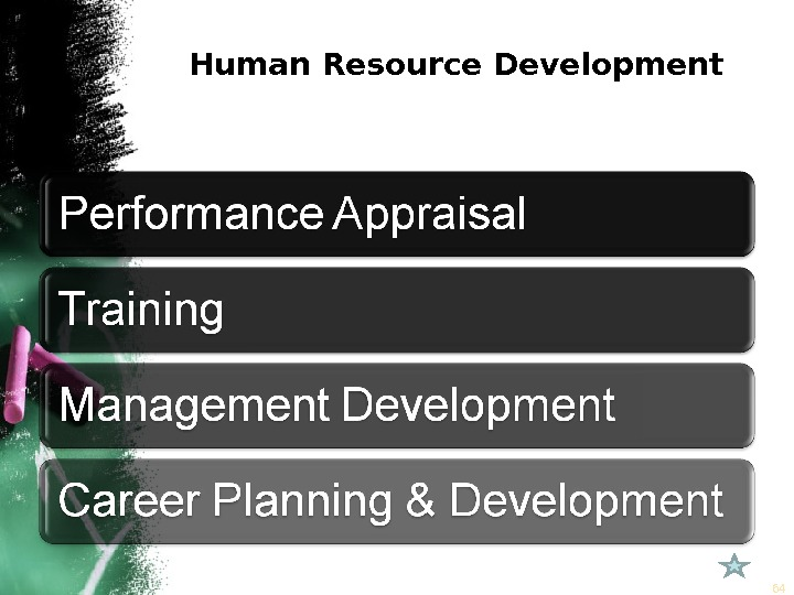 Human Resource Development 64