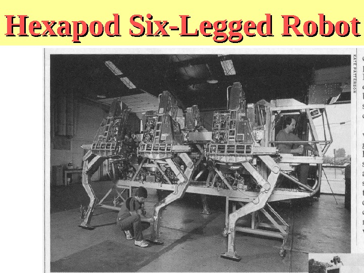 Hexapod Six-Legged Robot