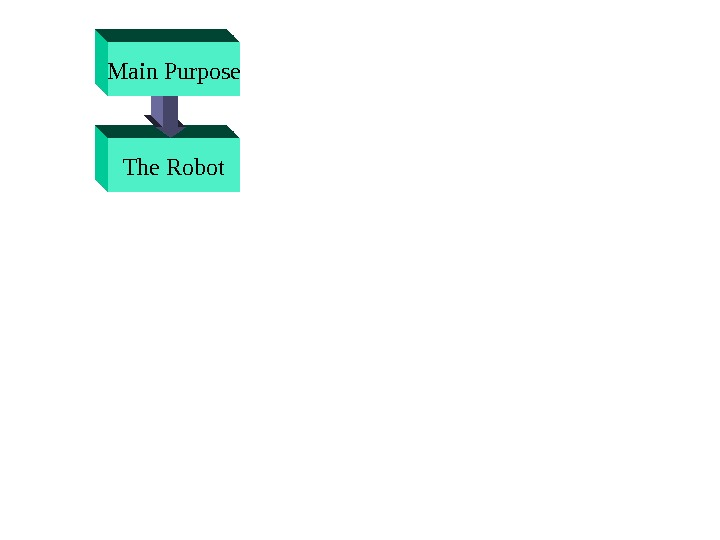 The Robot. Main Purpose