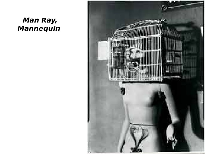 Man Ray,  Mannequin