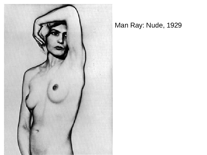 Man Ray: Nude, 1929