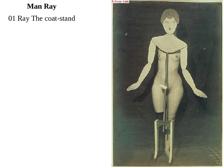 01 Ray The coat-stand Man Ray