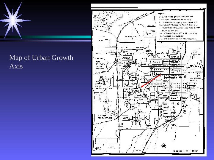 41 Map of Urban Growth Axis