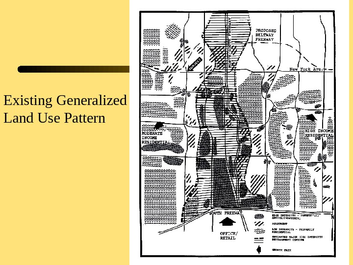 16 Existing Generalized Land Use Pattern