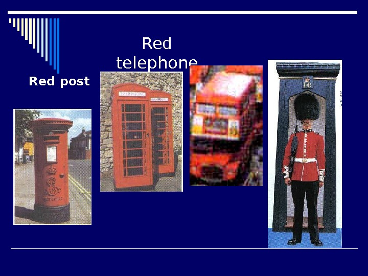 Red post Red telephone