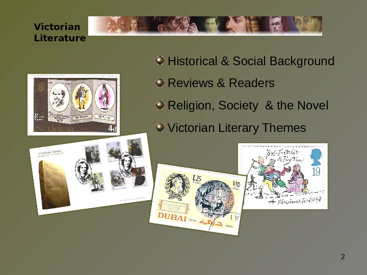 Historical & Social Background  Reviews & Readers  Religion, Society & the Novel