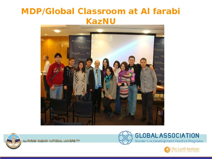 MDP/Global Classroom at Al farabi Kaz. NU