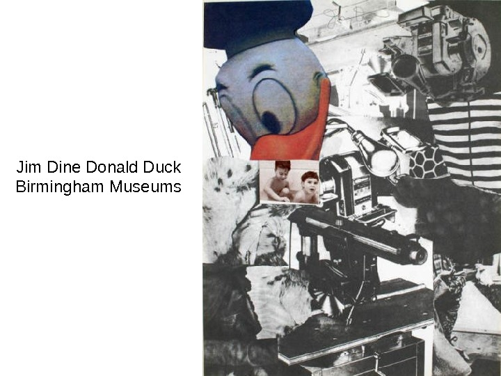 Jim Dine Donald Duck Birmingham Museums