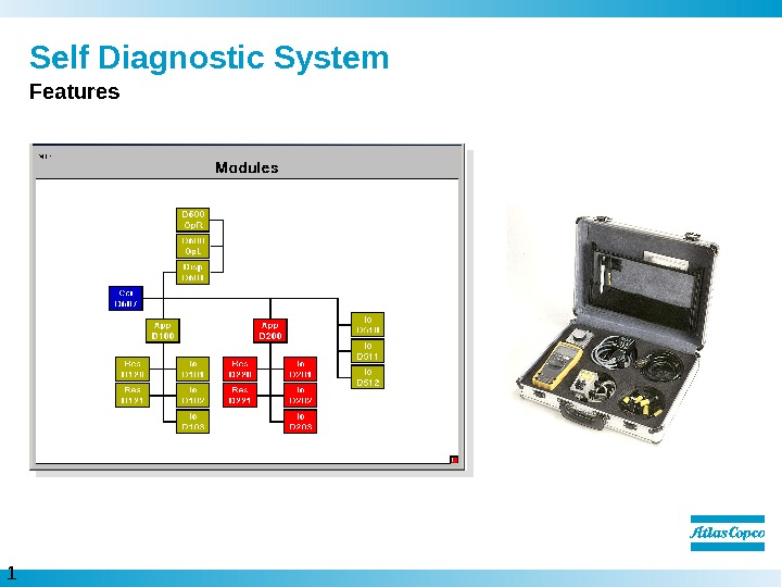 1 6  Self Diagnostic System Features