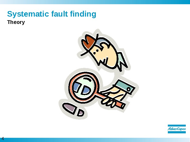 4  Systematic fault finding Theory
