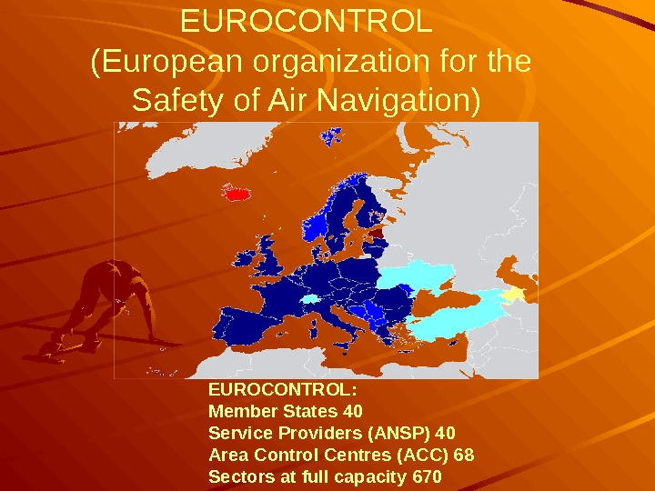 EUROCONTROL ( European organization for the Safety of Air Navigation) EUROCONTROL: Member States 40 Service Providers