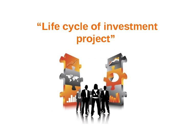 """ Life cycle of investment project"""