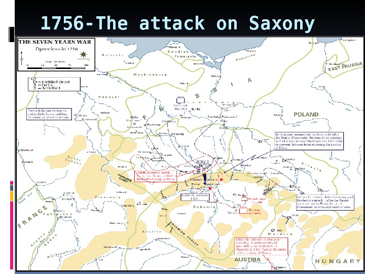 1756 -The attack on Saxony