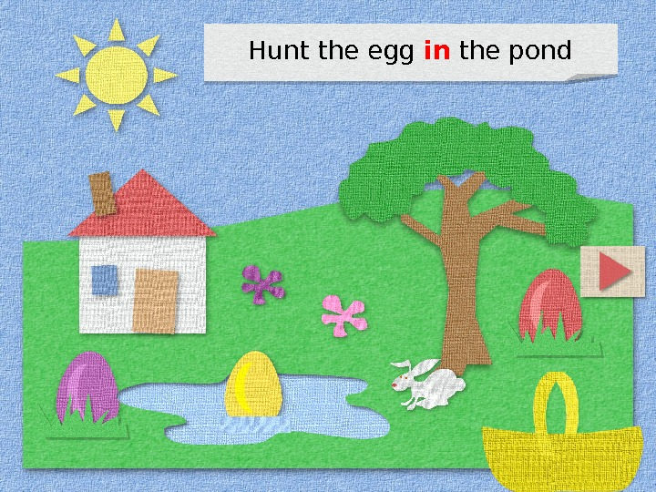 Hunt the egg in the pond 1 D 0 F 0704