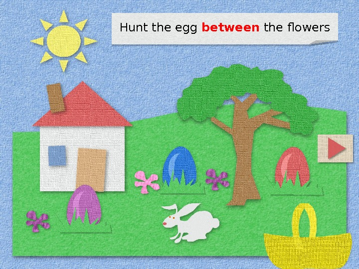 Hunt the egg between the flowers 1 D 11 07