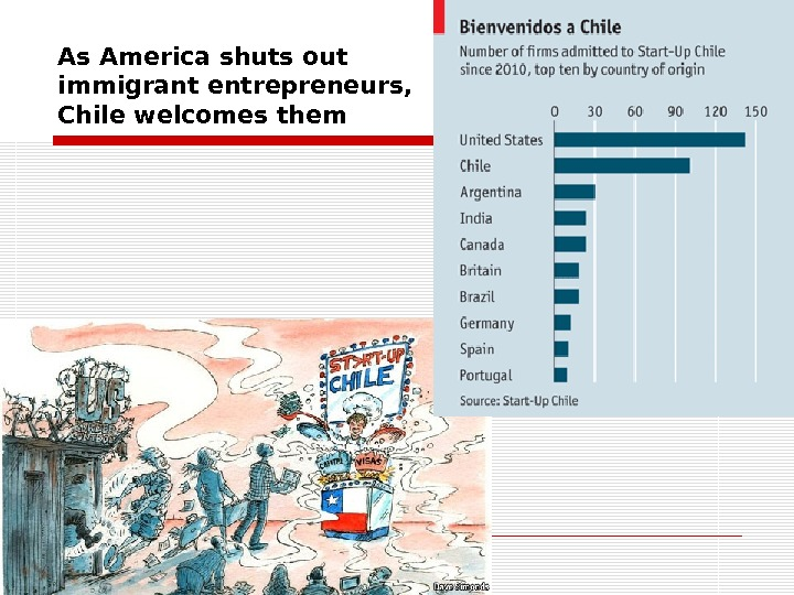 As America shuts out immigrant entrepreneurs,  Chile welcomes them