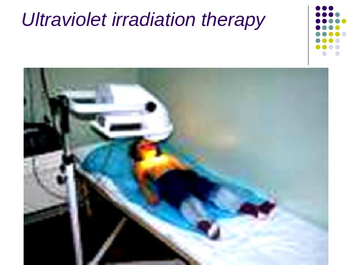 Ultraviolet irradiation therapy