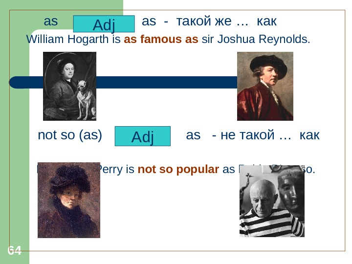64   as -  такой же … как William Hogarth is as famous as