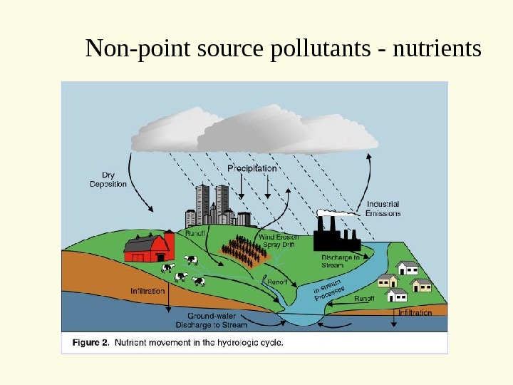 Non-point source pollutants - nutrients