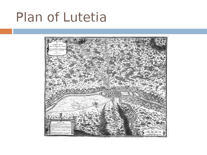 Plan of Lutetia