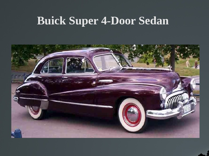 Buick Super 4-Door Sedan
