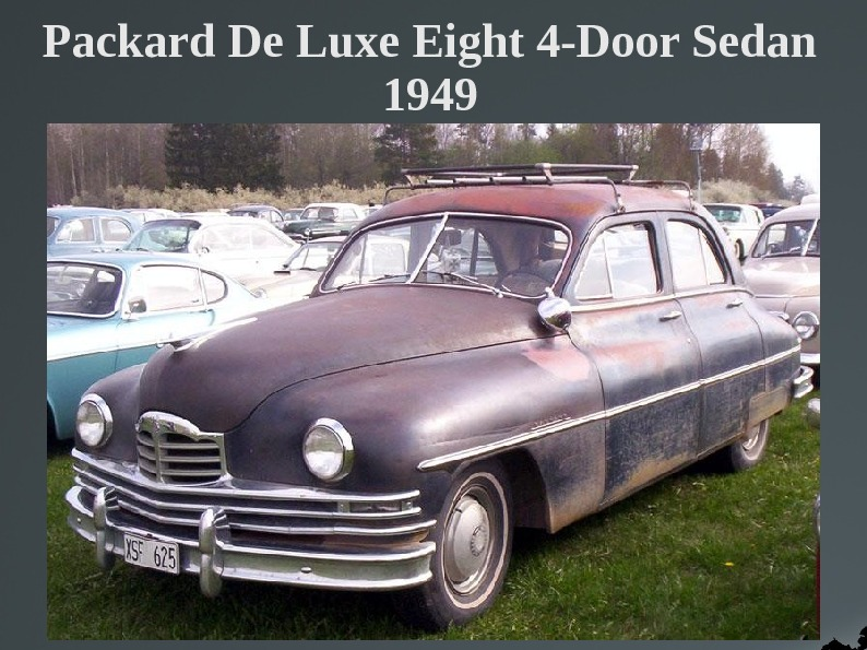 Packard De Luxe Eight 4-Door Sedan 1949