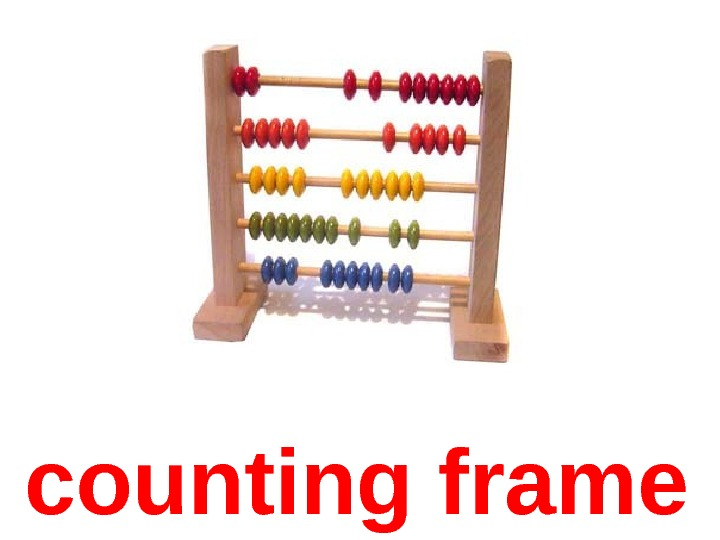 counting frame