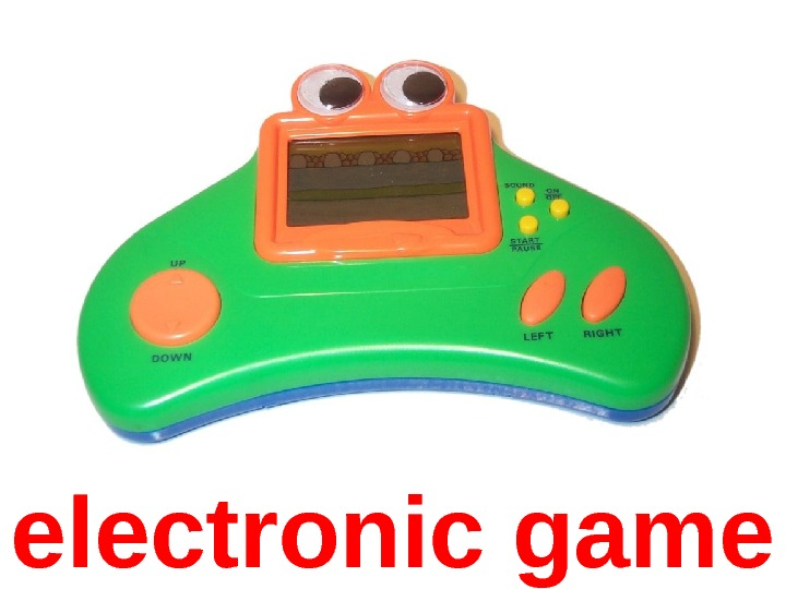 electronic game