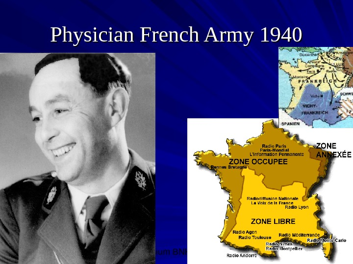 Symposium BNH, 10/08/0 4 8 Physician French Army 1940